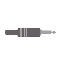 Jack cable icon vector