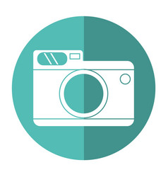 photo camera picture travel shadow vector image