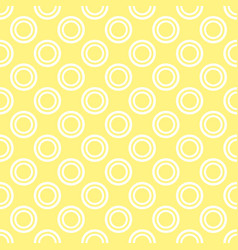 seamless pattern with white polka dots on a sunny vector image