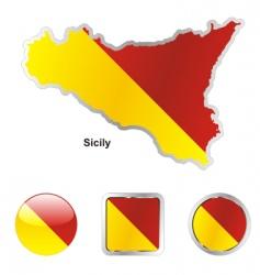Sicily vector