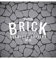seamless texture of stone brick vector image