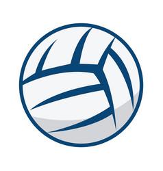 volleyball ball design vector image