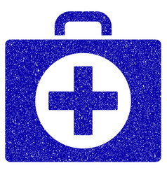 first aid icon grunge watermark vector image vector image
