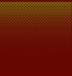 Geometric halftone circle pattern background - vector