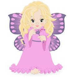magical fairy vector image