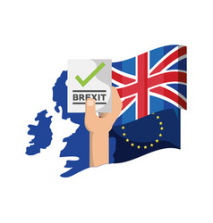 Brexit design concept vector
