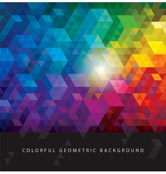 Colorful Geometric Backgrounds vector