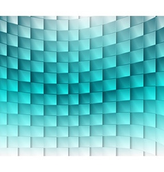 Colorful square blue ligh vector image