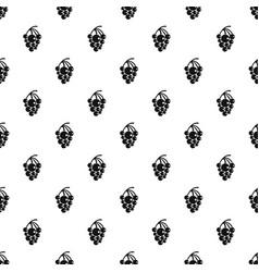 isabella grapes pattern seamless vector image