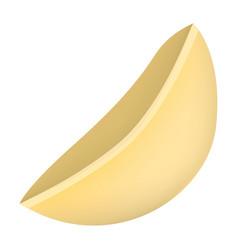 macaroni mockup realistic style vector image