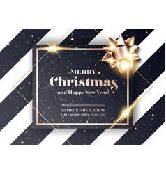 Merry christmas background minimalist xmas 2020 vector