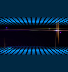 Party background with led display background and vector image