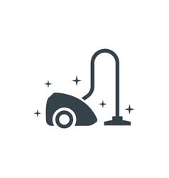 Vacuum cleaner concept logotype template design vector