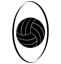 Volleyball 3 vector image