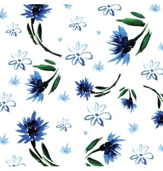 floral background painted hands in vector image vector image