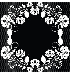 lace fabric background vector image vector image