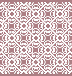 abstract floral asian ornament seamless geometric vector image