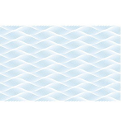 Abstract wavy winding blue and white background vector