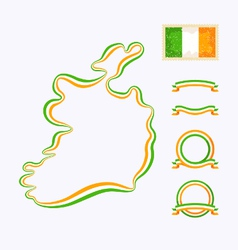 Colors of Ireland vector
