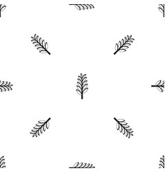 spica pattern seamless black vector image