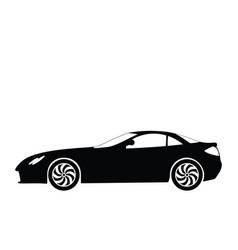 sport car 5 vector image