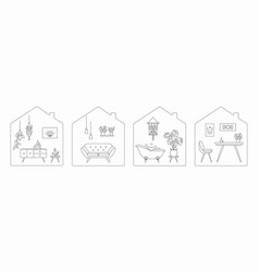 stay at home during coronavirus quarantine vector image
