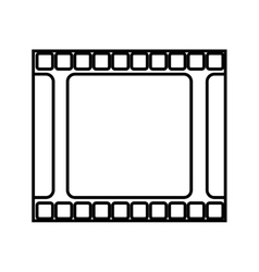 Tape film isolated icon vector