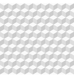 White geometric seamless background vector image