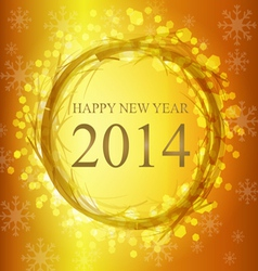 2014 new year vector image vector image