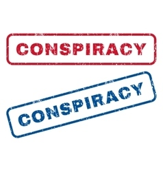 Conspiracy rubber stamps vector
