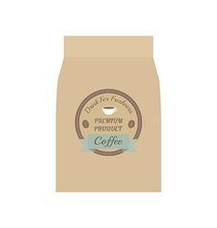 106coffee bag vector