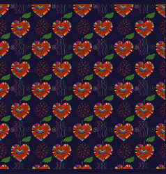 apple pattern 2 vector image
