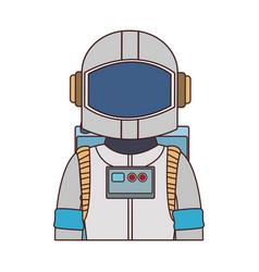 Astronaut wear equipment vector