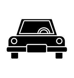 car vehicle sideview vector image