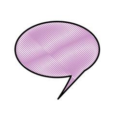 Comic bubble cartoon vector
