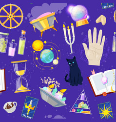 fortune telling fortune-telling vector image