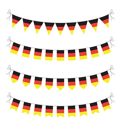 germany bunting vector image