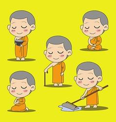Monk 1 vector