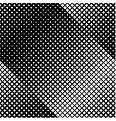 Monochrome seamless diagonal square pattern vector