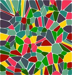 Mosic tile background vector image