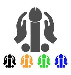Penis masturbation icon vector
