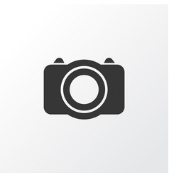 Photo icon symbol premium quality isolated camera vector