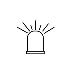 alarm signal icon vector image