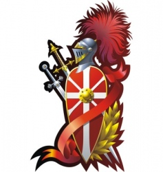 armorial composition vector image vector image