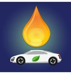 bio fuels ethanol green energy alternative oil vector image