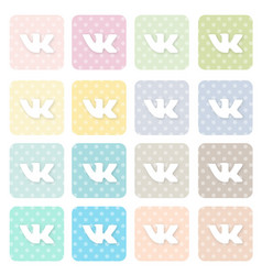 Icons-social5 vector