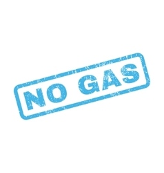 No Gas Rubber Stamp vector