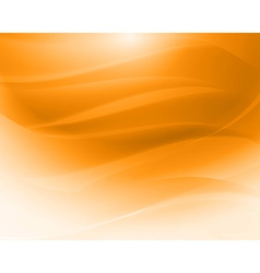 Orange abstract waves vector