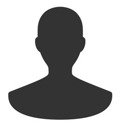 Person flat icon vector