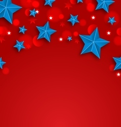 stars background for american holidays place vector image